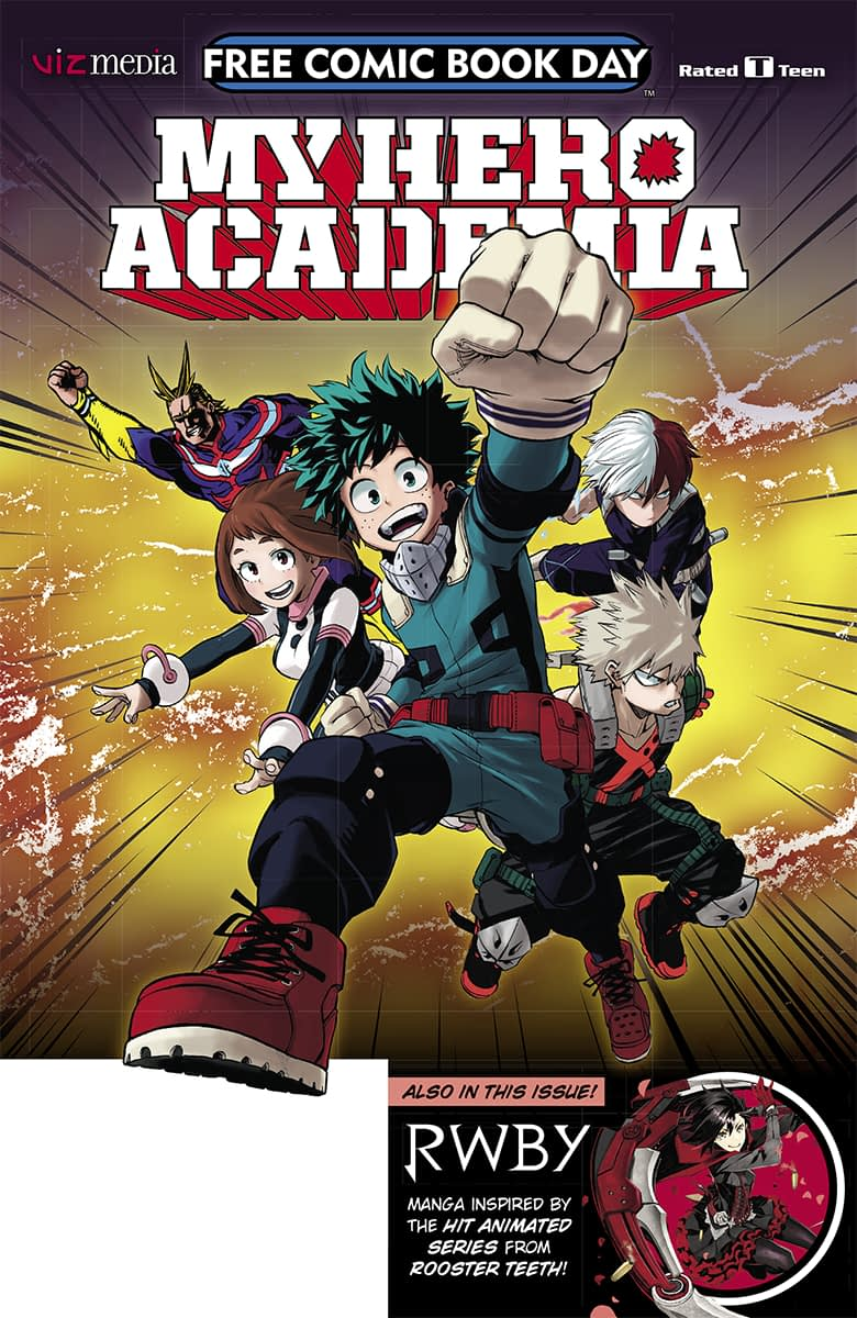 My Hero Academia and RWBY FCBD Releases: VIZ Media March