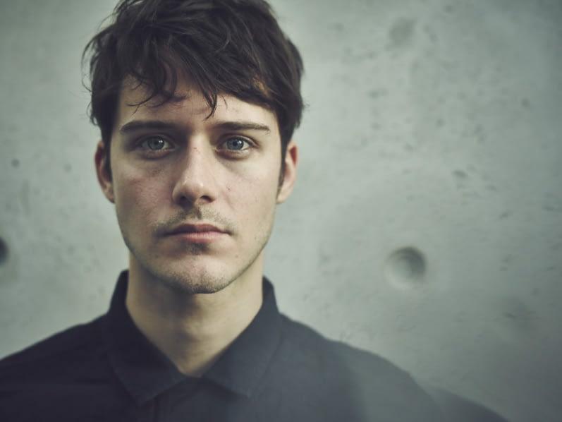 César Domboy as adult Fergus Fraser