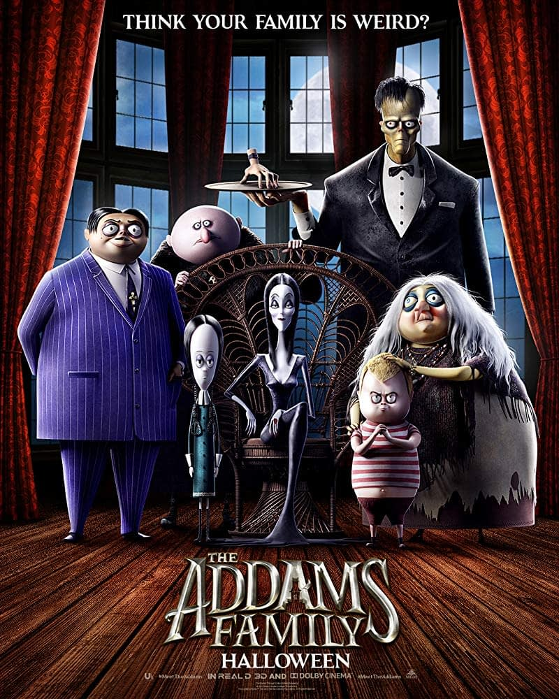 First Poster for the Animated Reboot of The Addams Family, Trailer Next Month