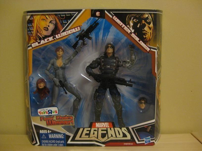 Marvel Legends TRU Exclusive Winter Soldier Two Pack 2