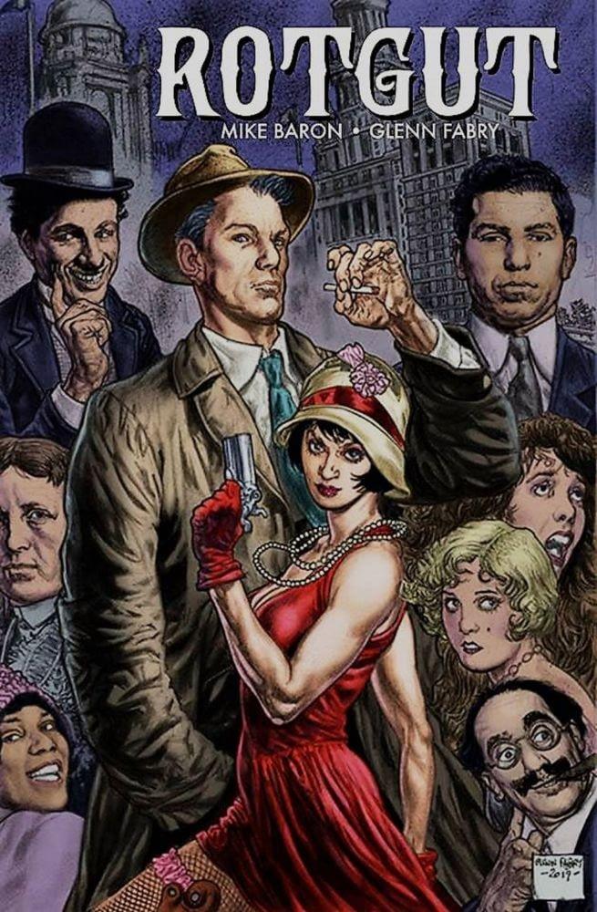 Glenn Fabry and Mike Baron's Rotgut, Coming From Dark Horse Comics