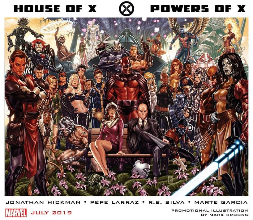 Marvel Sends Seed Packets to Comic Stores Promoting Jonathan Hickman's House and Powers Of X