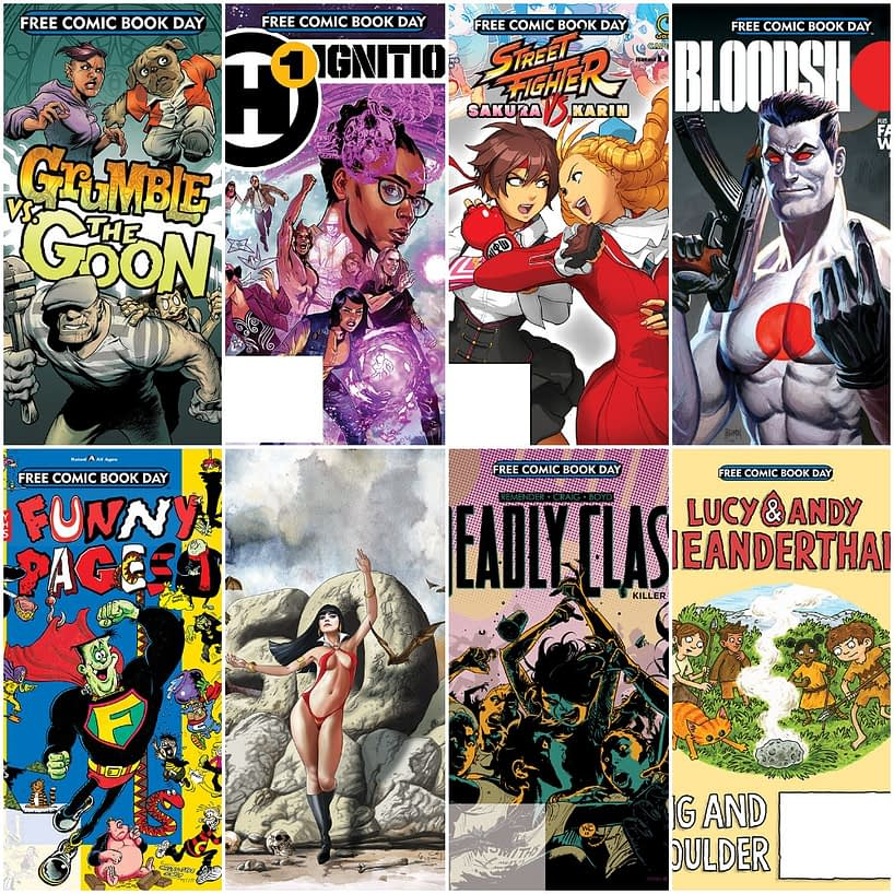 Two Weeks Till Free Comic Book Day 2019 and Here Are 30 Previews - What Are You Planning?