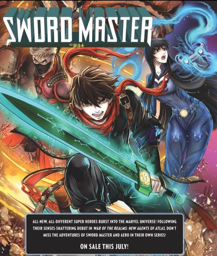 Greg Park Tells Wave's Origin in Aero #1 – as Shang-Chi Teams Up With Sword Master