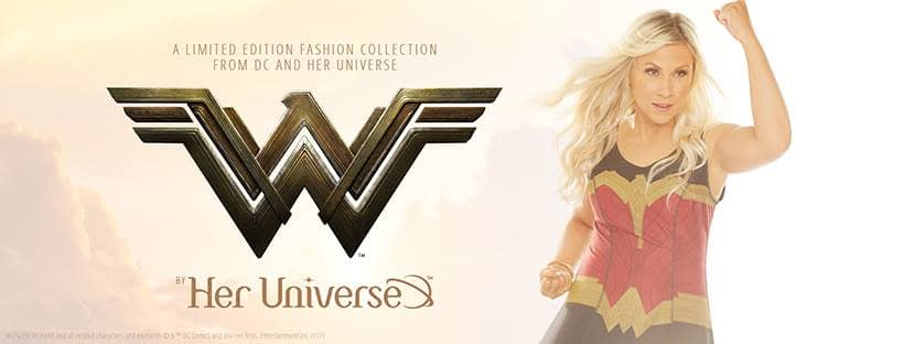 Her Universe brand creator and actress Ashley Eckstein