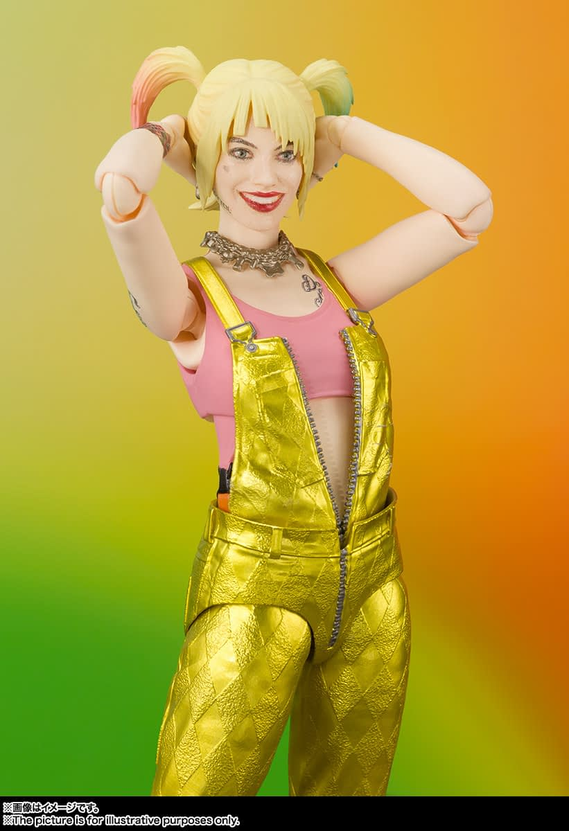 """Harley Quinn Gets a New """"Birds of Prey"""" Figure from S.H. Figuarts"""