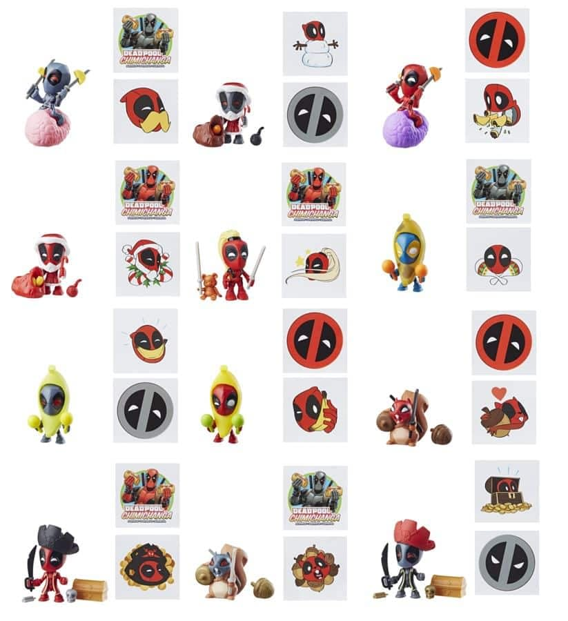 Marvel Legends Deadpool Chimchanga Mystery Figures Wave 2 2