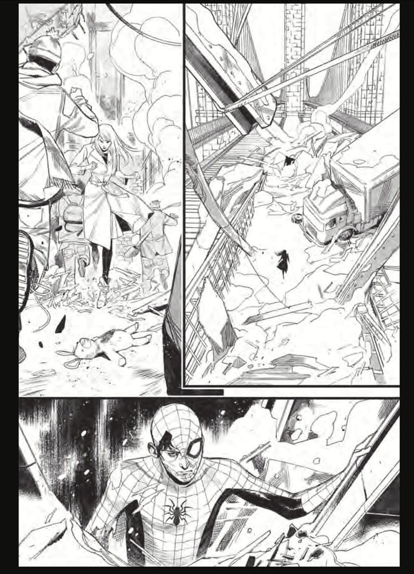 Preview of Sara Pichelli, JJ Abrams and Henry Abrams' Spider-Man #1