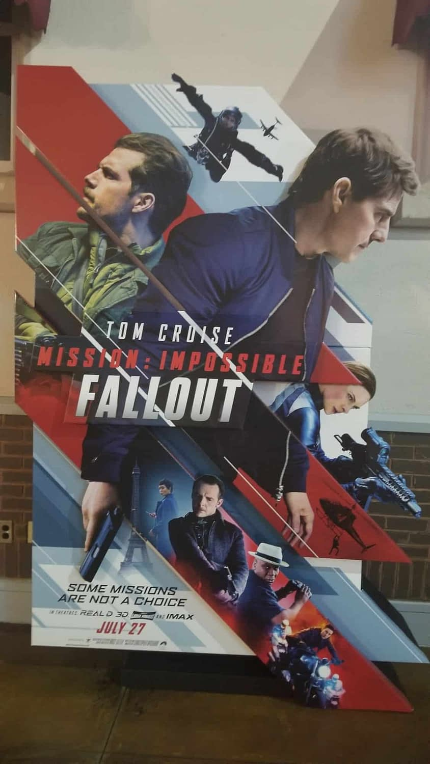 Stylish New Mission Impossible Fallout Poster Released
