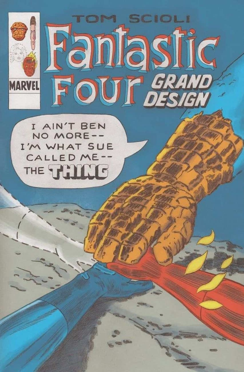 Tom Scioli Explore's Fantastic Four Grand Design at Marvel