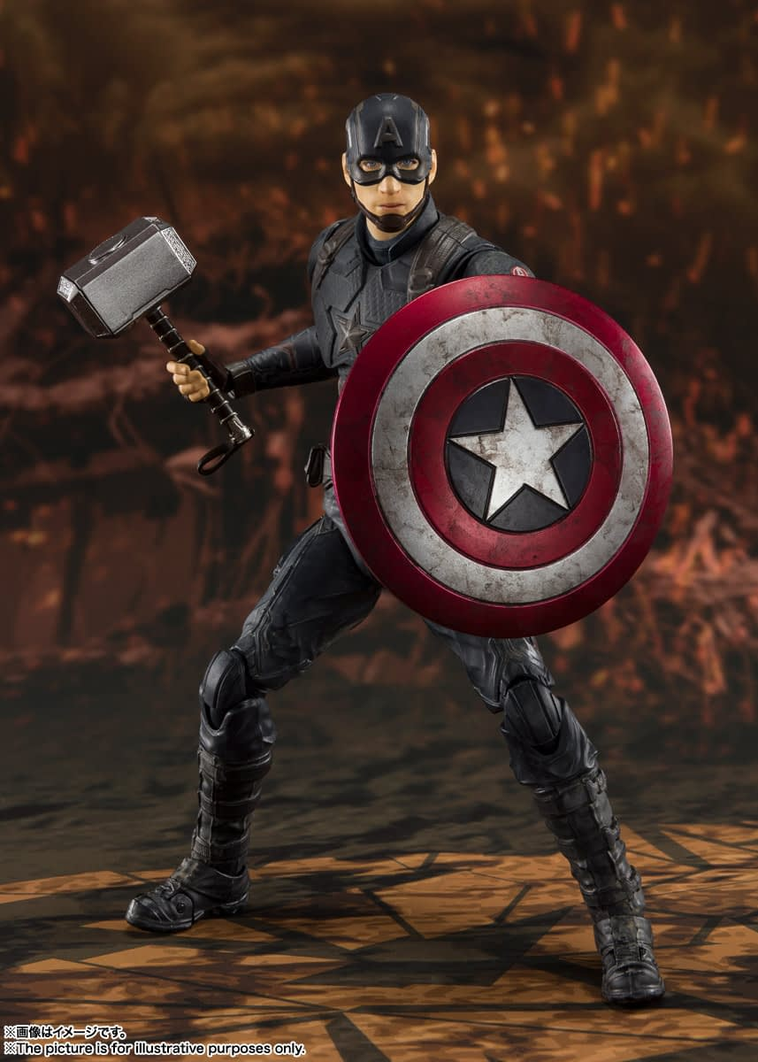 Captain America Mjolnir Figure