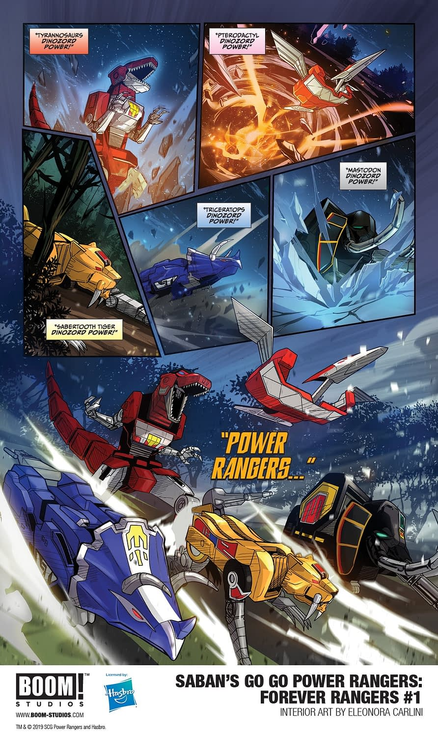 Go Back to the Future in Saban's Go Go Power Rangers: Forever Rangers Preview