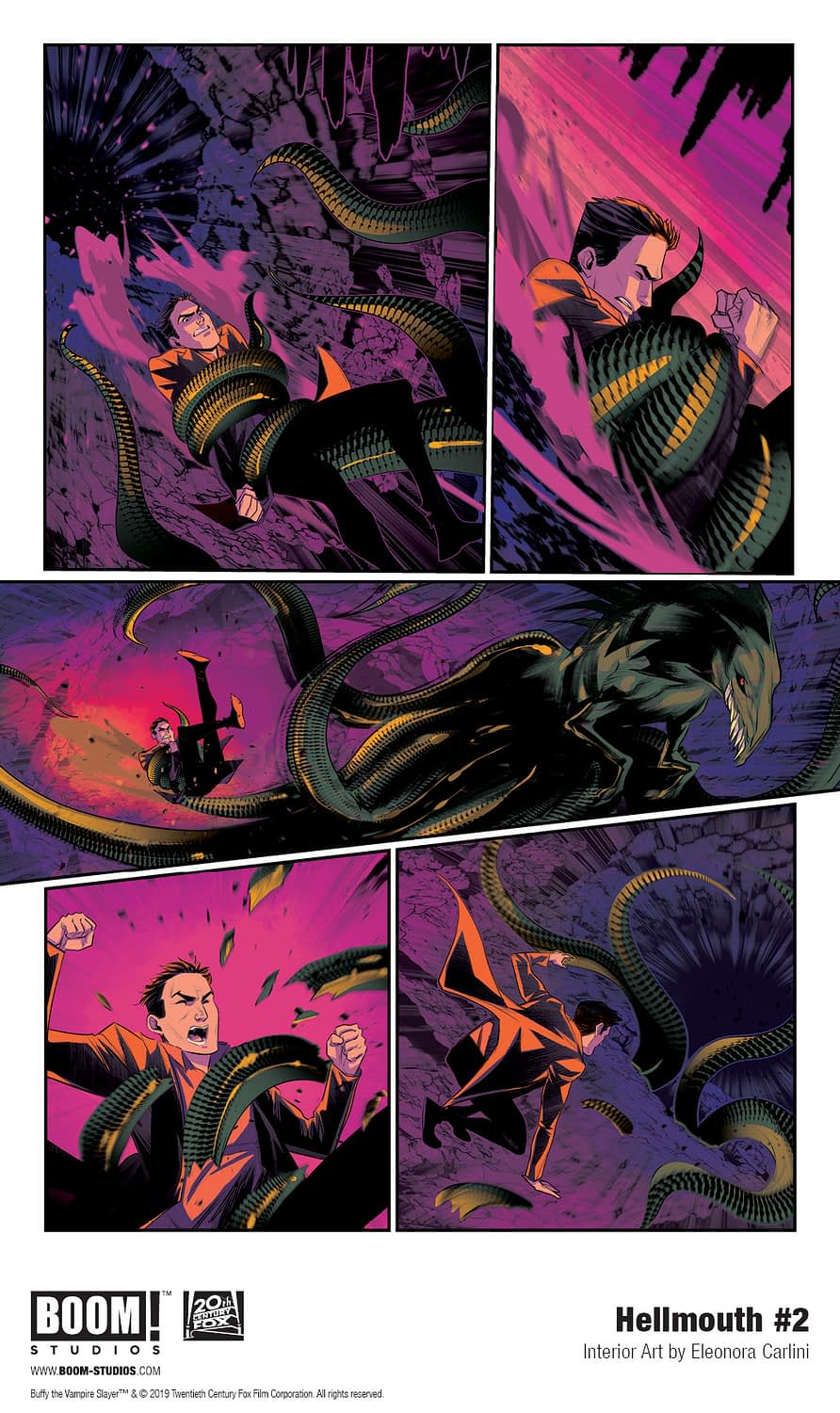 Celebrate Halloween with a First Look at Buffy & Angel Hellmouth #2
