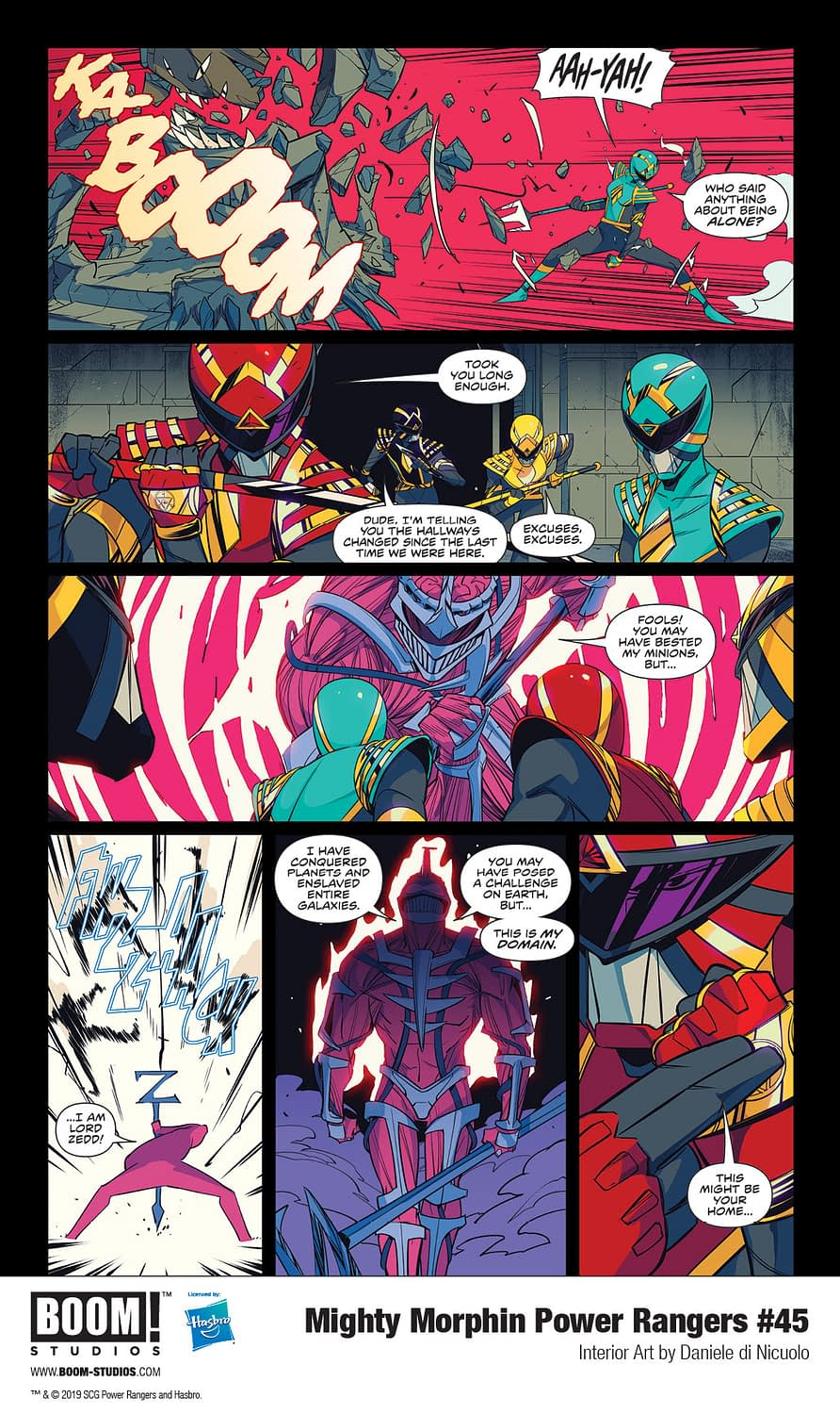 Power Rangers to Be Changed Forever in Shocking Mighty Morphin Power Rangers #45 [Preview]