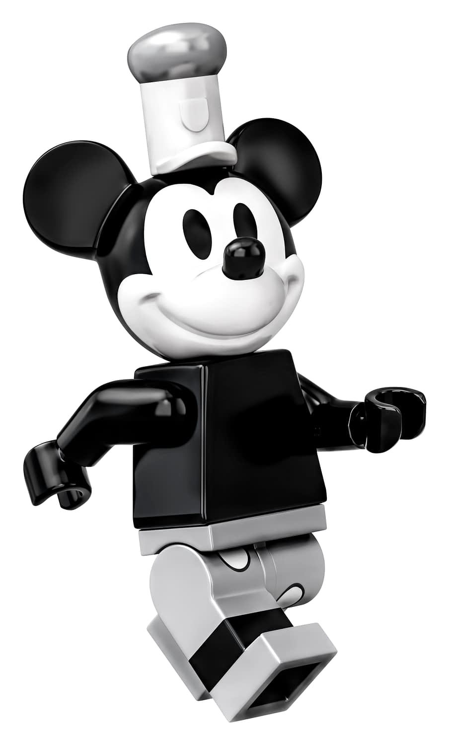 LEGO Ideas Steamboat Willie Mickey and Minnie Mouse Set 14