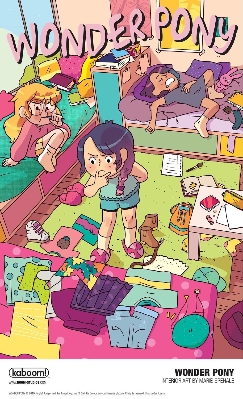 BOOM! to Publish Marie Spénale's Wonder Pony OGN Next April