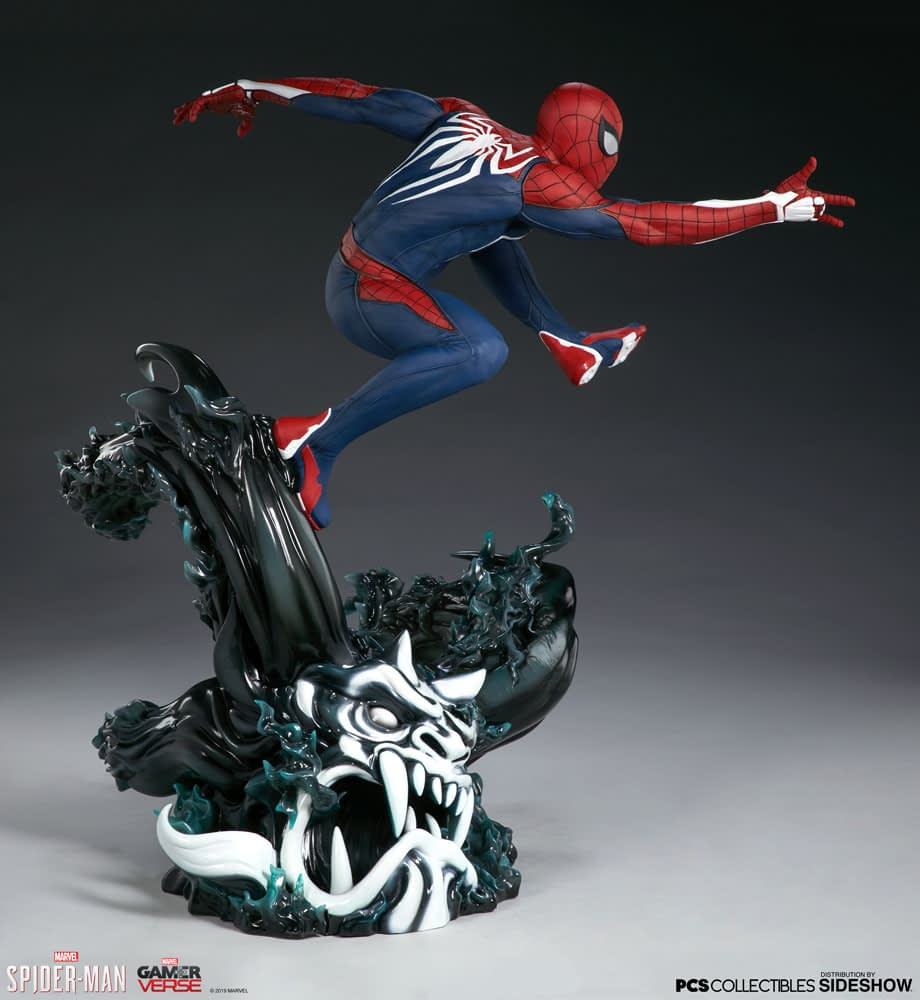 Spider-Man PS4 Thwips on Over with New Statue from PCS Collectibles