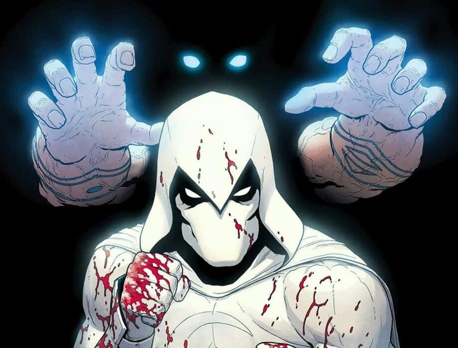 Moon Knight #189 cover by Jacen Burrows and Mat Lopes