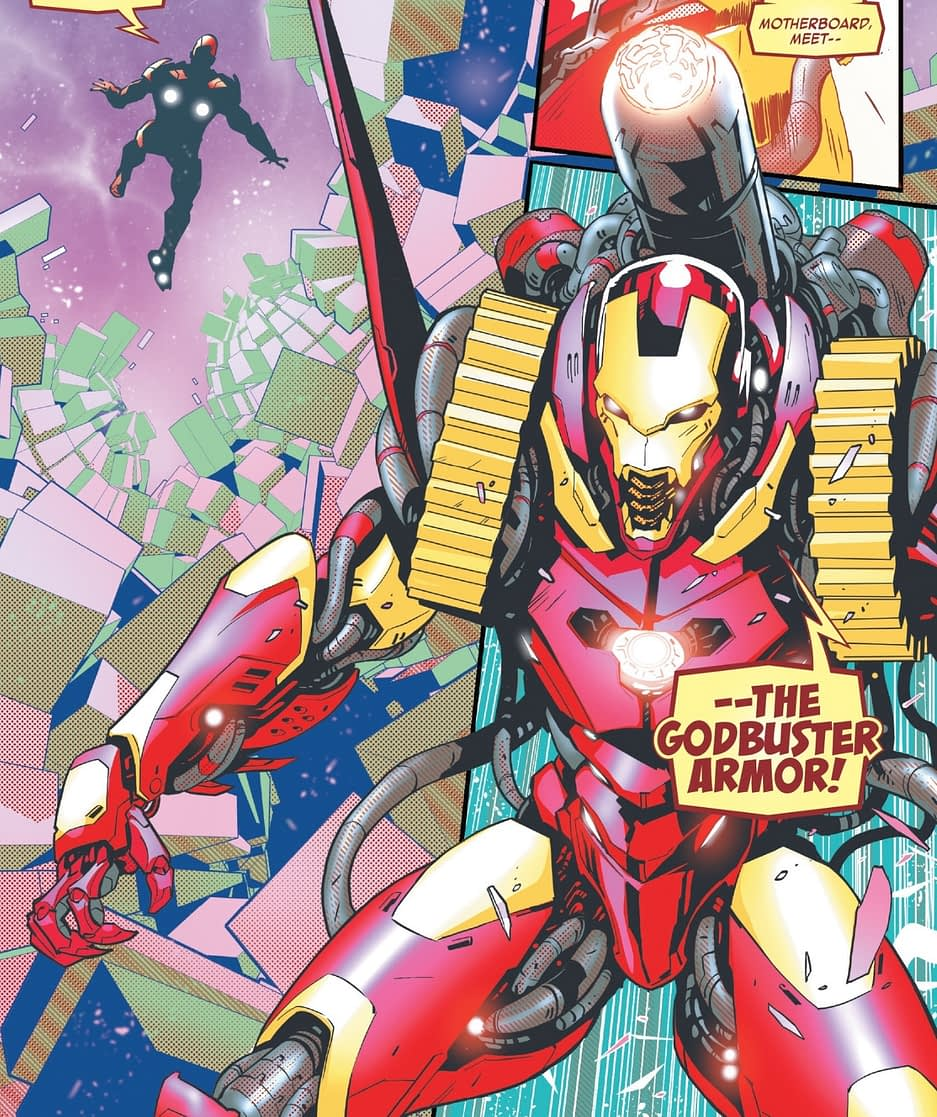 Marvel Comics Begins Iron Man 2020 In October