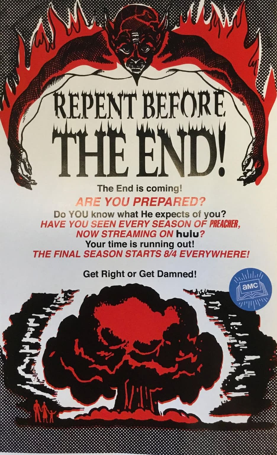 Preacher 'Repent Before The End' to Appear on Back of Tomorrow's DC Comics