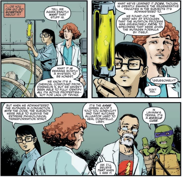 The State of the American Healthcare Industry in TMNT #95
