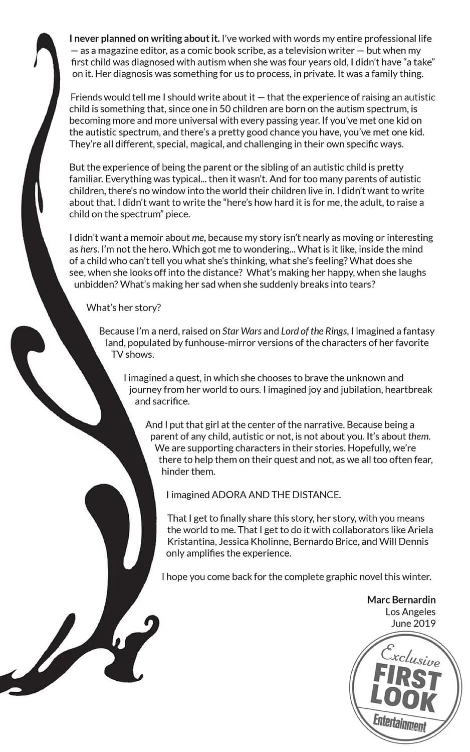 Adora and the Distance, a New ComiXology Original From Marc Bernadin and Ariela Kristantina