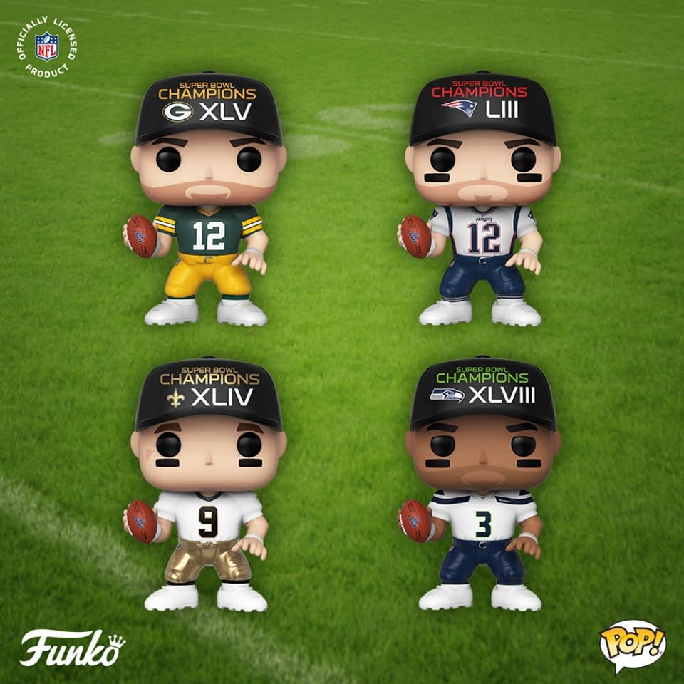 Funko Announces More NFL Pops That Are Ready For Kickoff