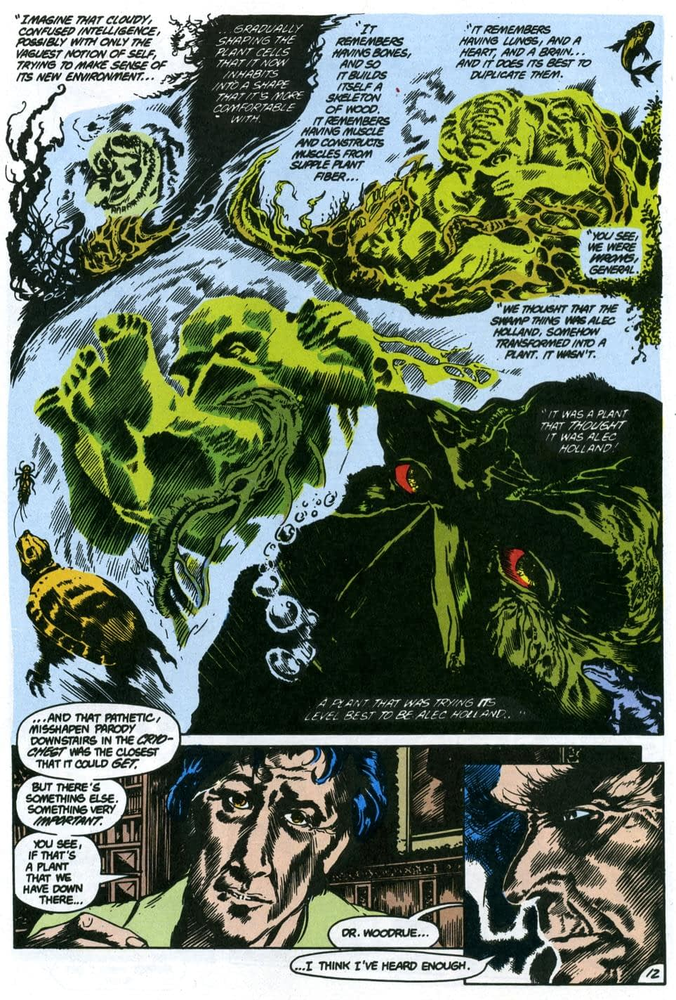 """""""Swamp Thing"""": """"The Anatomy Lesson"""" Fails Alan Moore's Original Comic Story"""
