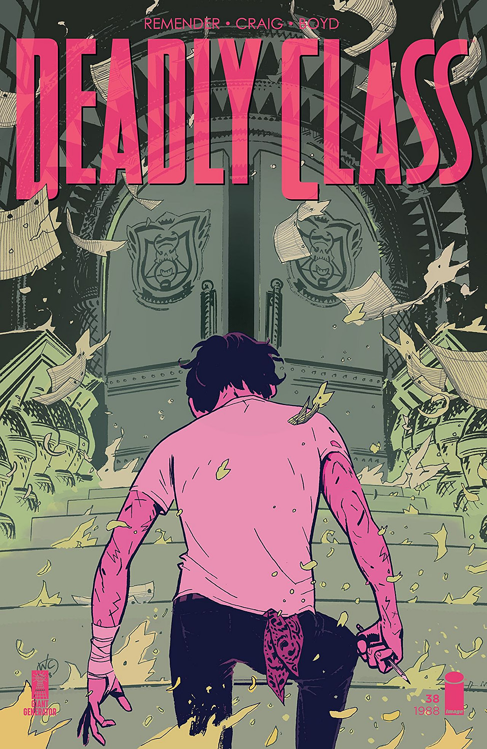 'Deadly Class' #38: Marcus and Maria Return to Kings Dominion