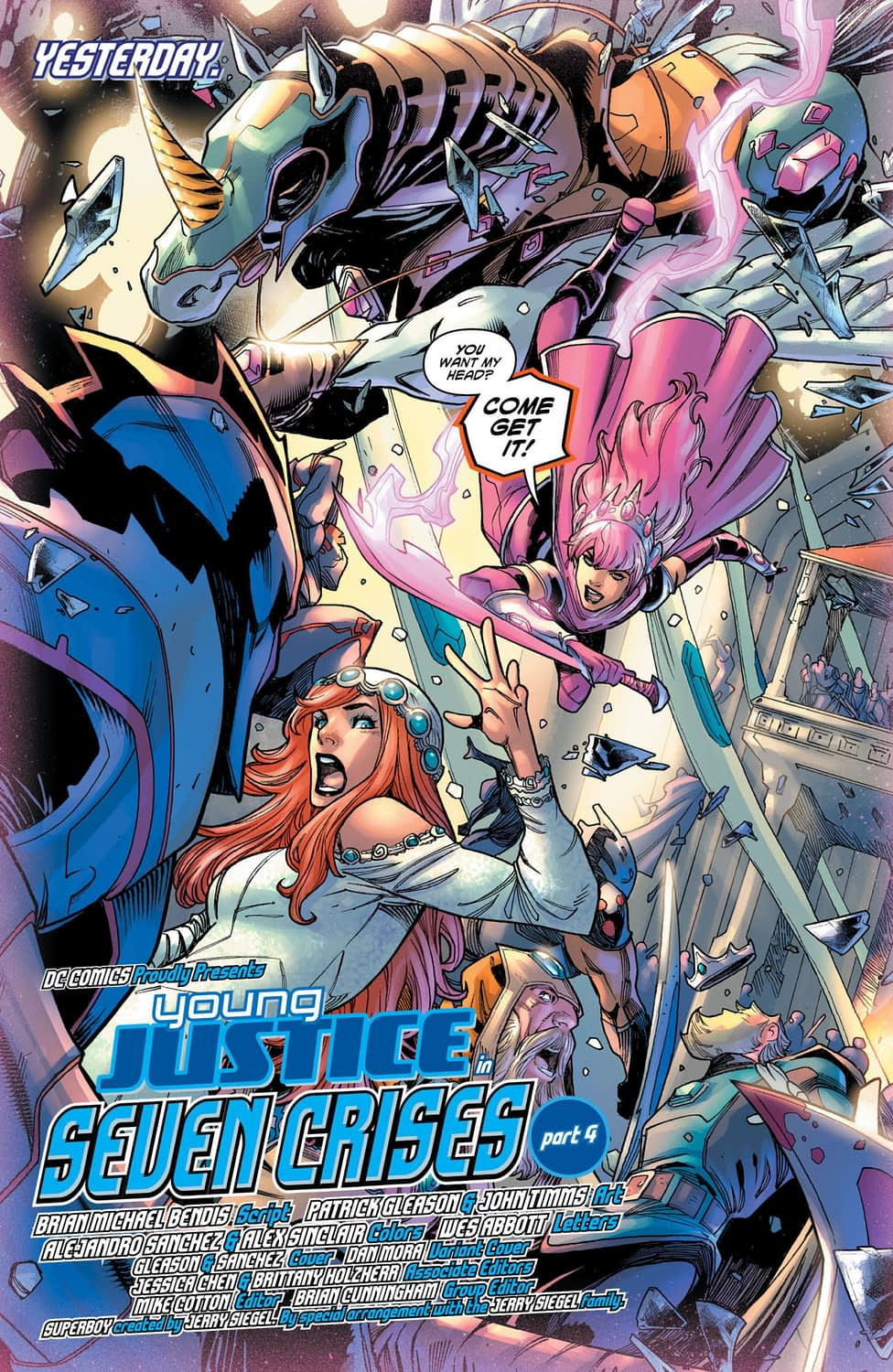 Ain't No Party Like a Gemworld Wedding Party in Tomorrow's Young Justice #4
