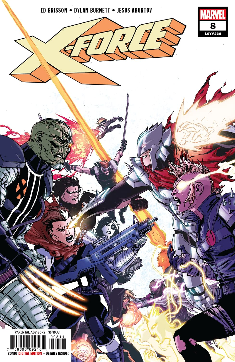 Maybe Cable Should Get That Checked Out? X-Force #8 Preview