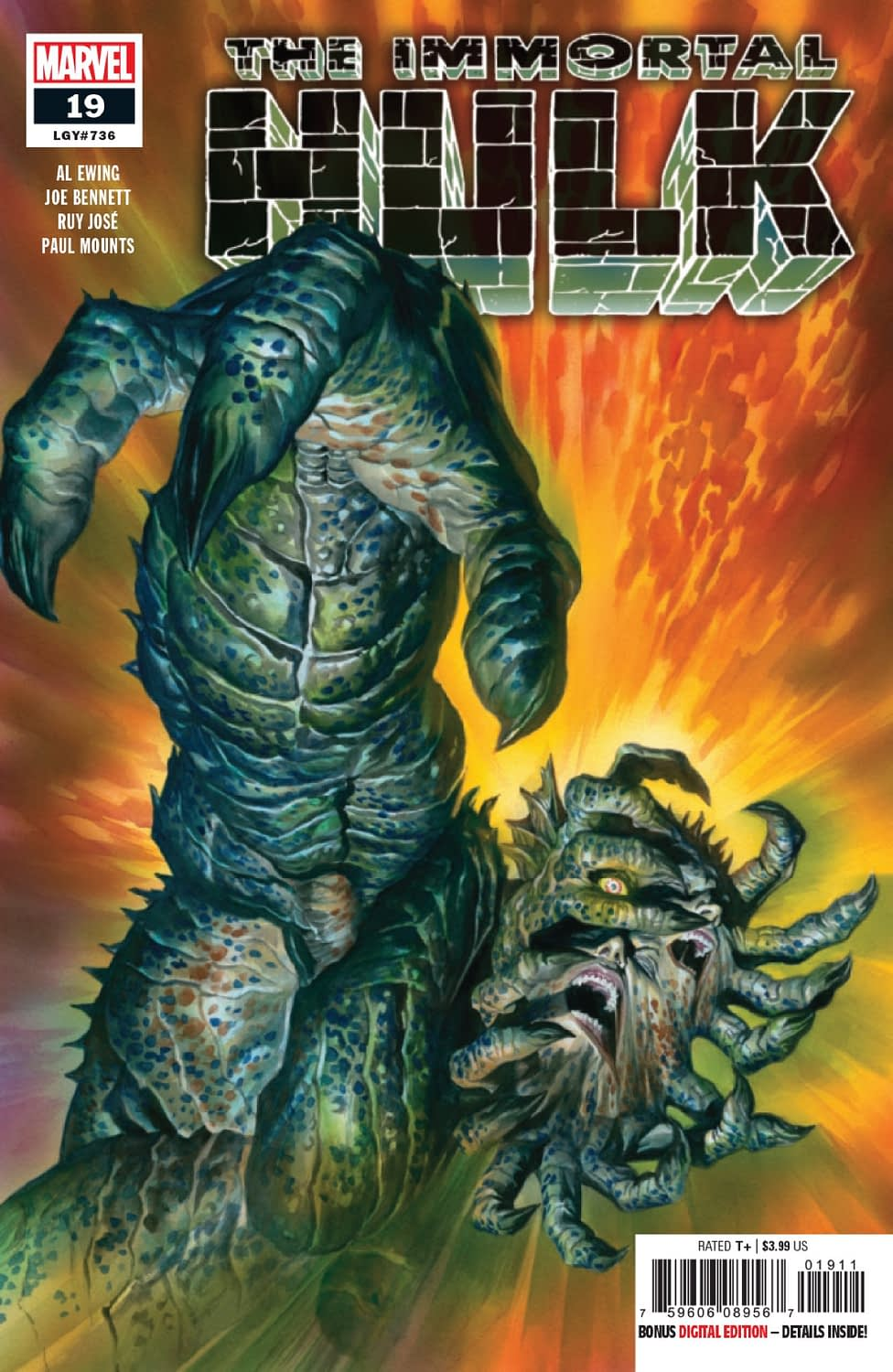 Is This How You Outsell Batman? A Vomitous Immortal Hulk #19 Preview