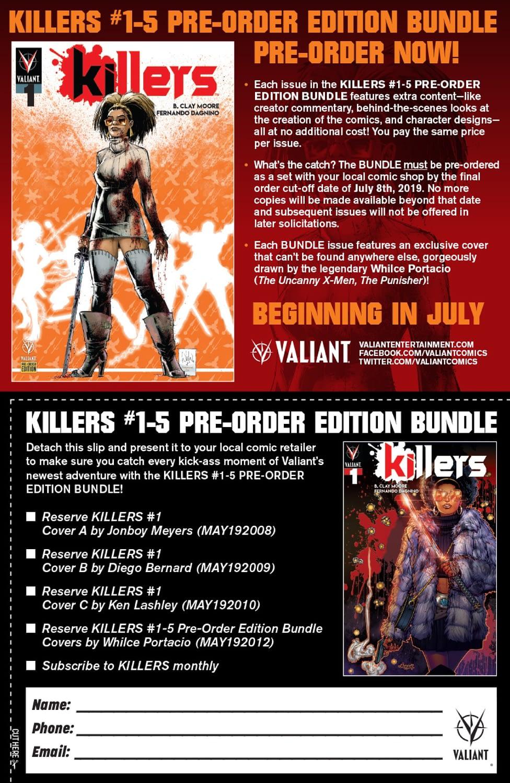Whilce Portacio Covers Killers for Valiant Pre-Order Bundle