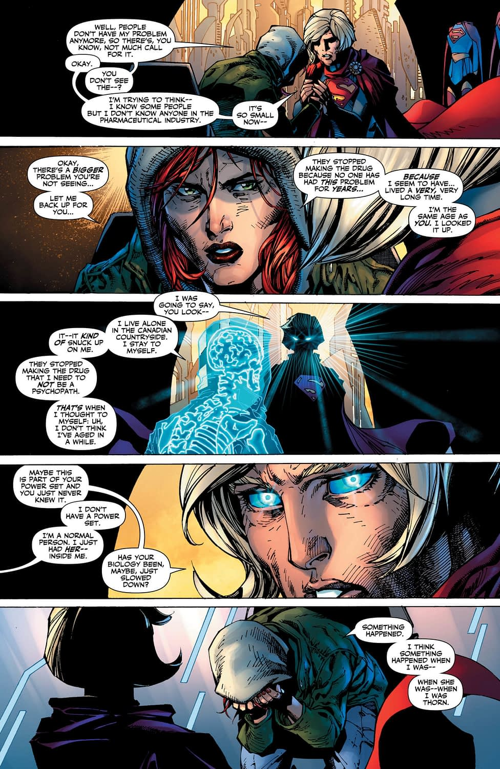 Legion of Superheroes: Millennium #1 Preview Reveals We Still Haven't Fixed Healthcare System in 1000 Years