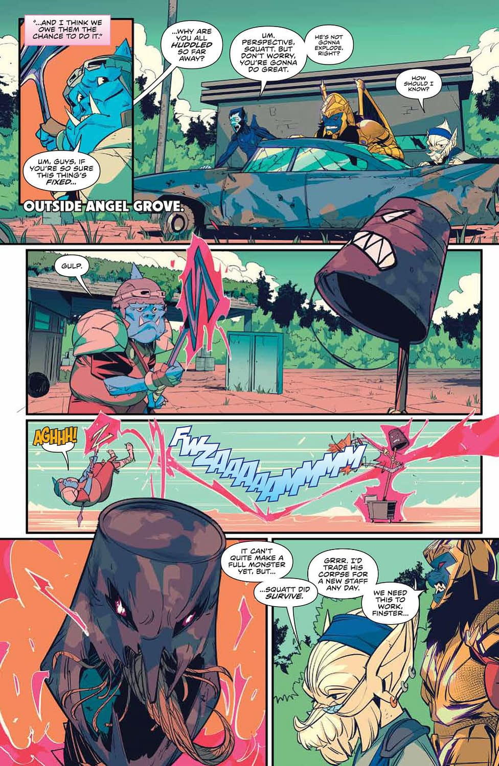 Power Rangers #46 [Preview]