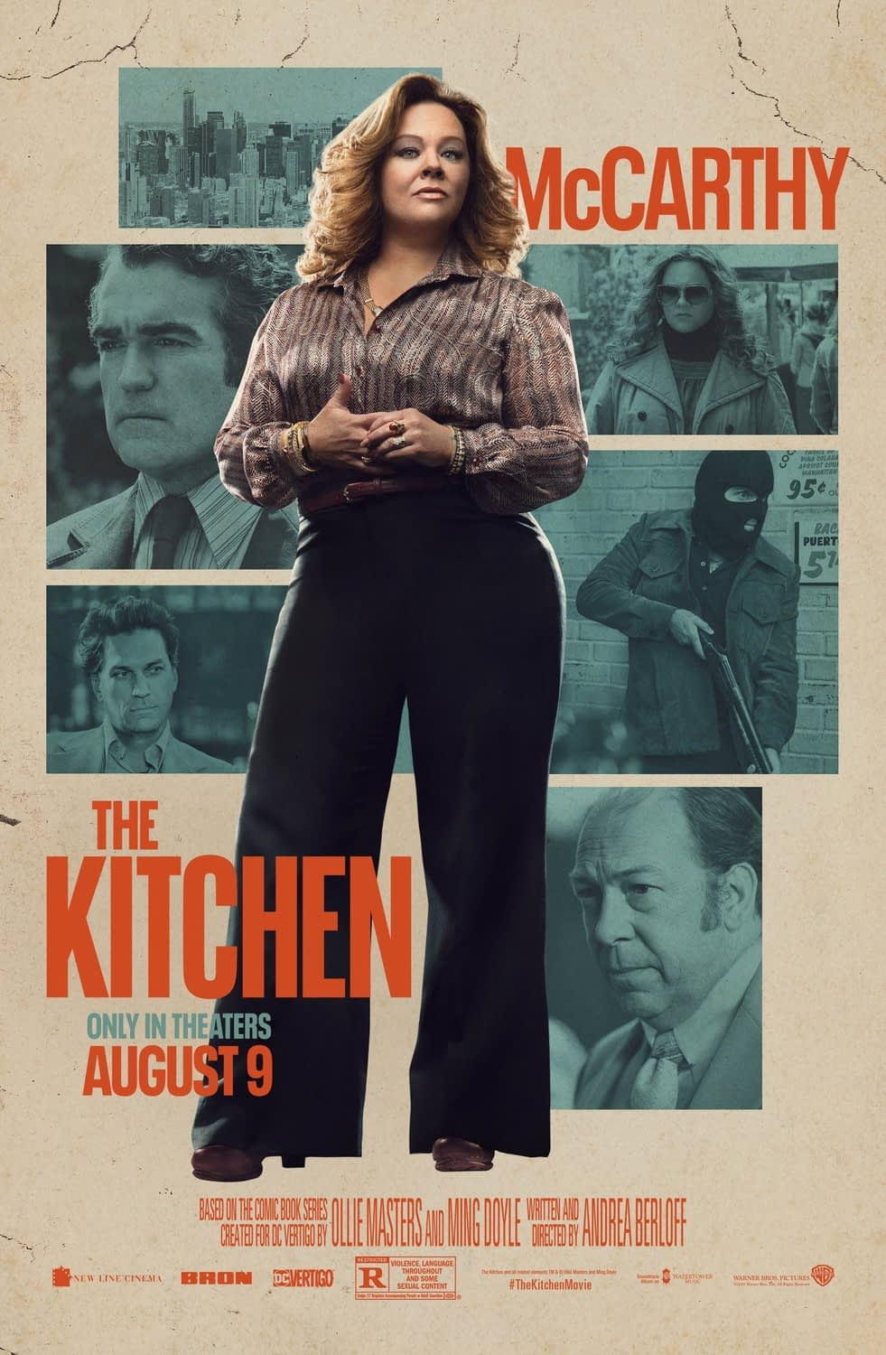 """New Trailer and 3 New Character Posters for """"The Kitchen"""""""