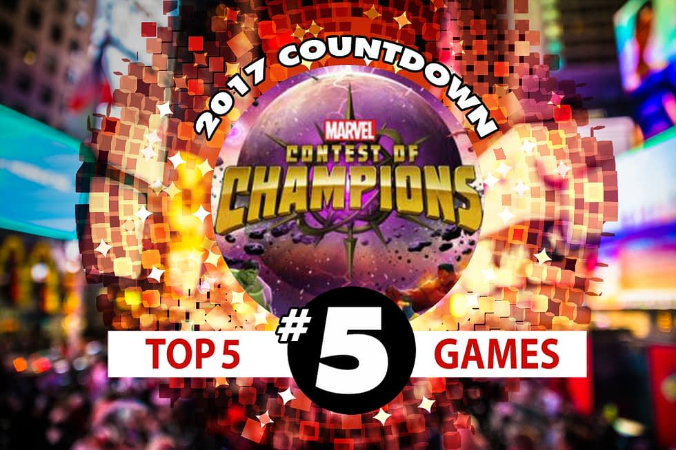 2017 Games Countdown #5: The Marvel Contest of Champions Community