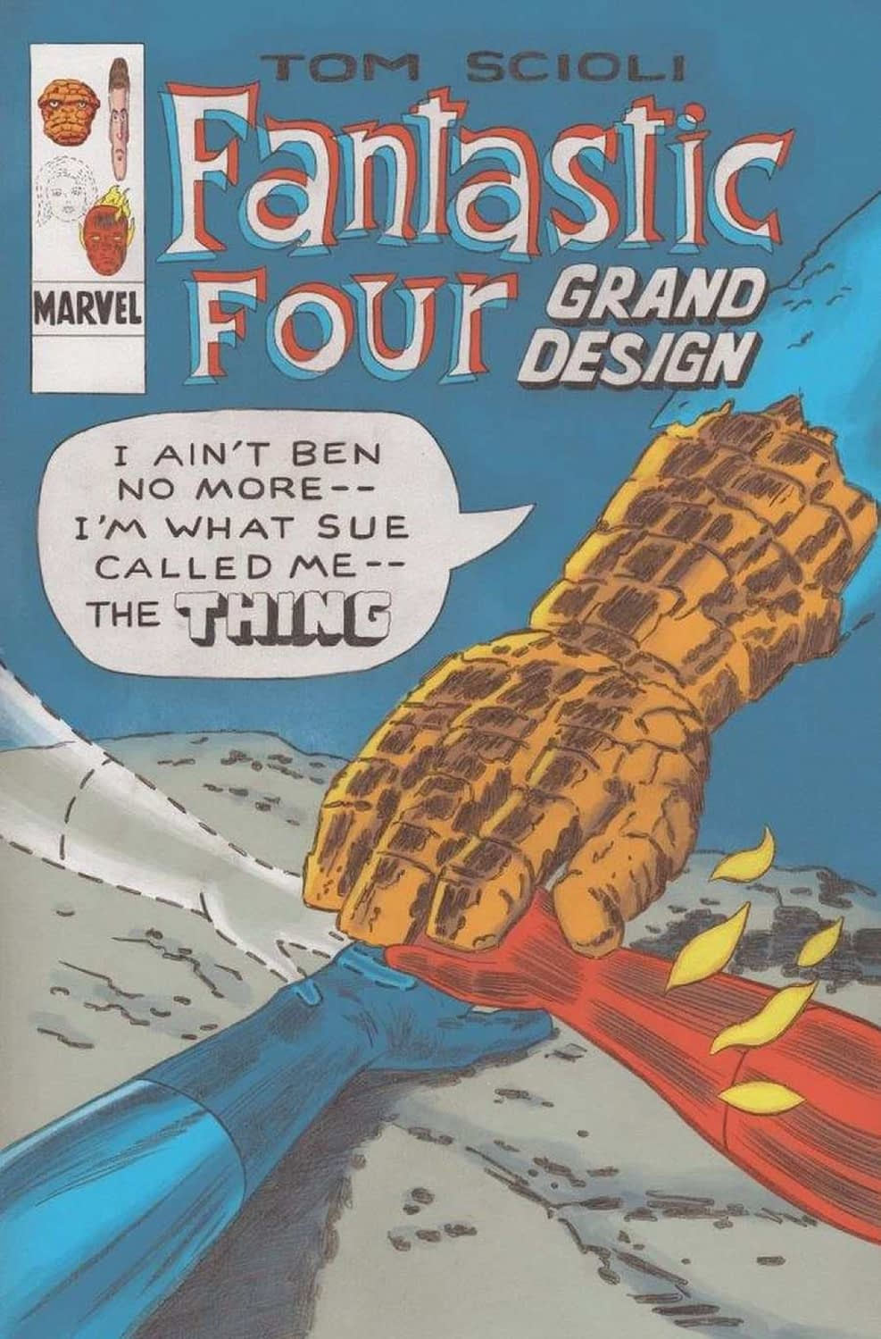 Tom Scioli Explore's Fantastic Four Grand Design at Marvel