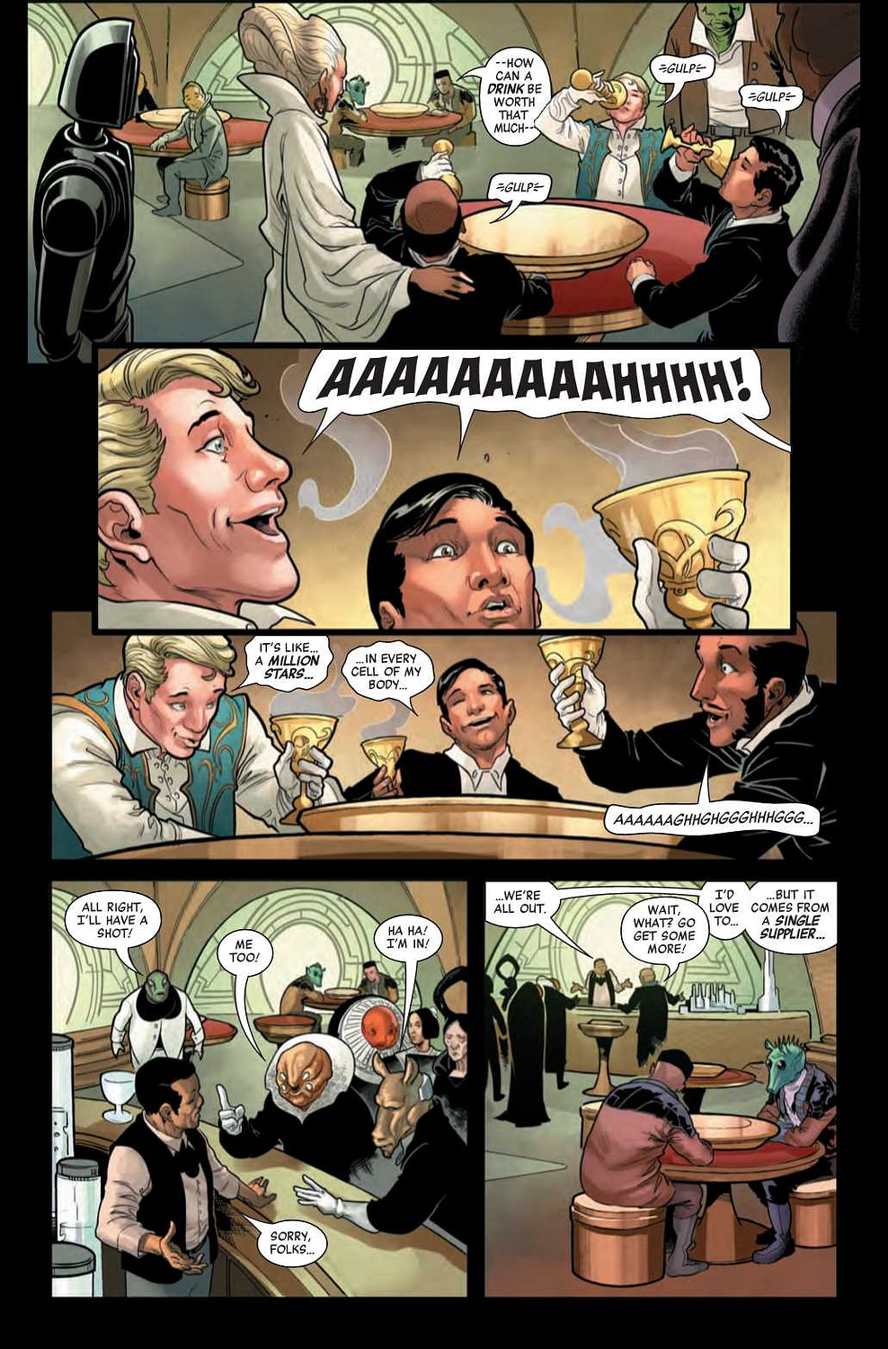 We Have a Bad Feeling About This Jabba the Hut #1 Preview