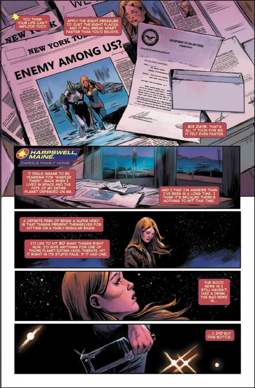 Captain Marvel #8: Demon in a Bottle? [Preview]