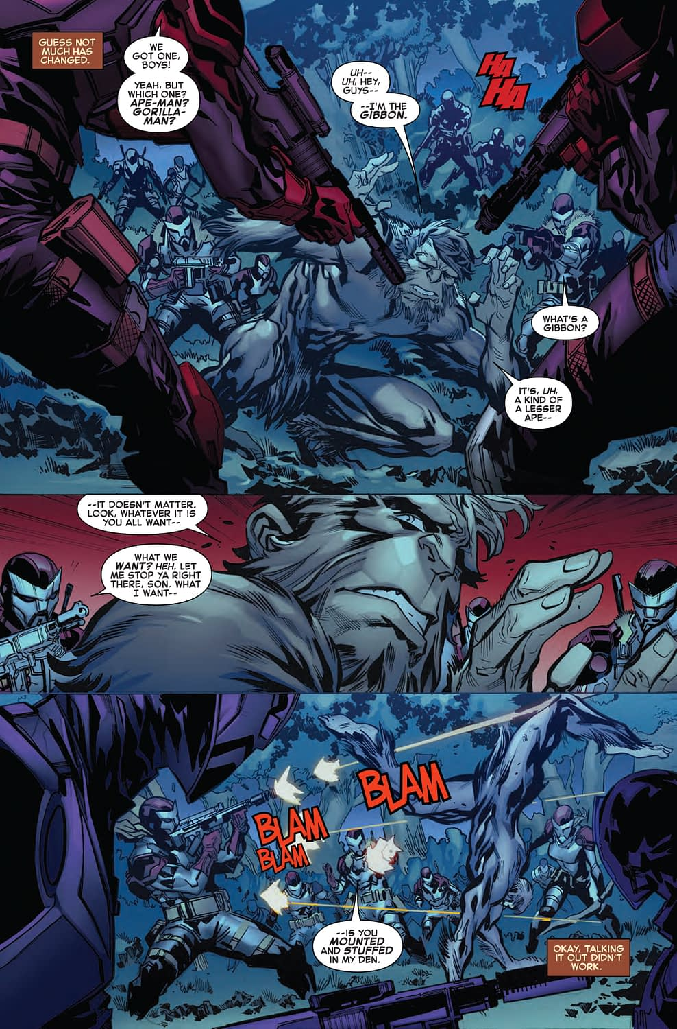 Sympathy for The Gibbon in Next Week's Amazing Spider-Man 18.HU