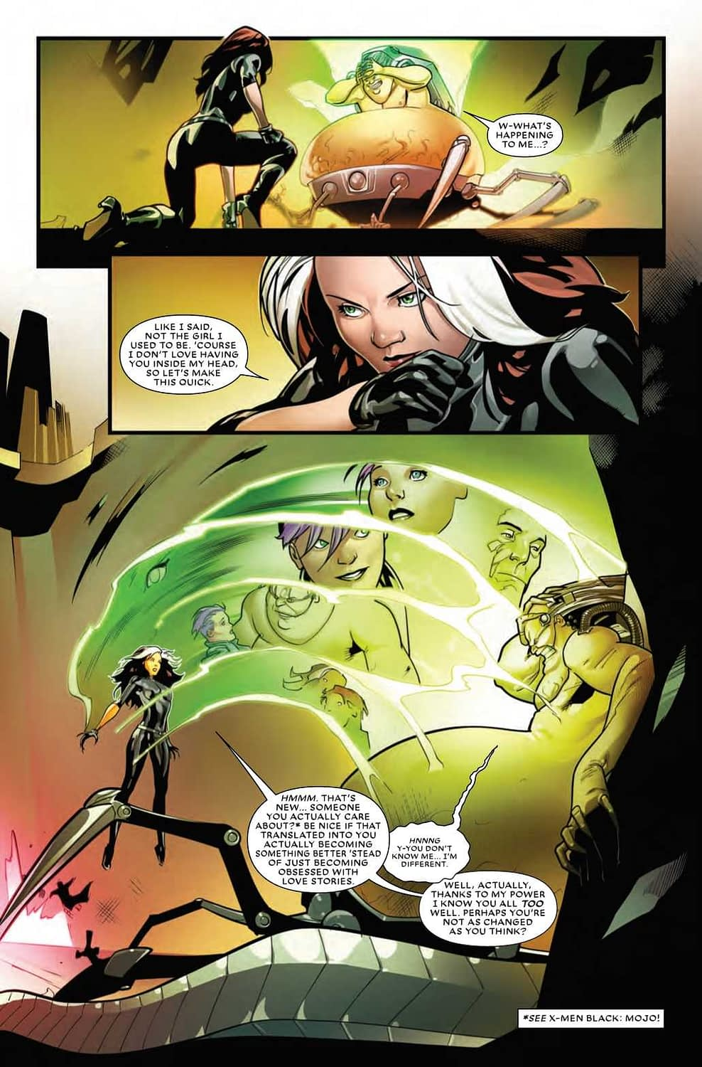 Mojo Still Carries a Torch for His Human Girlfriend Ann - Mr. and Mrs. X #10 Preview