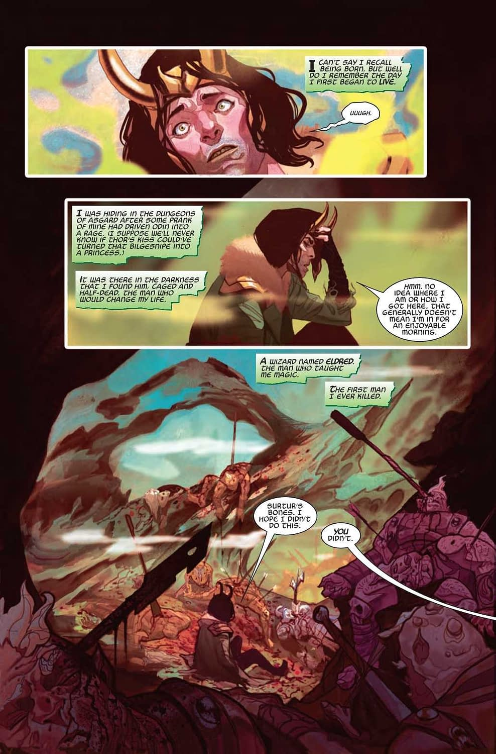 Loki, How Can We Miss You if You Never Leave? Thor #12