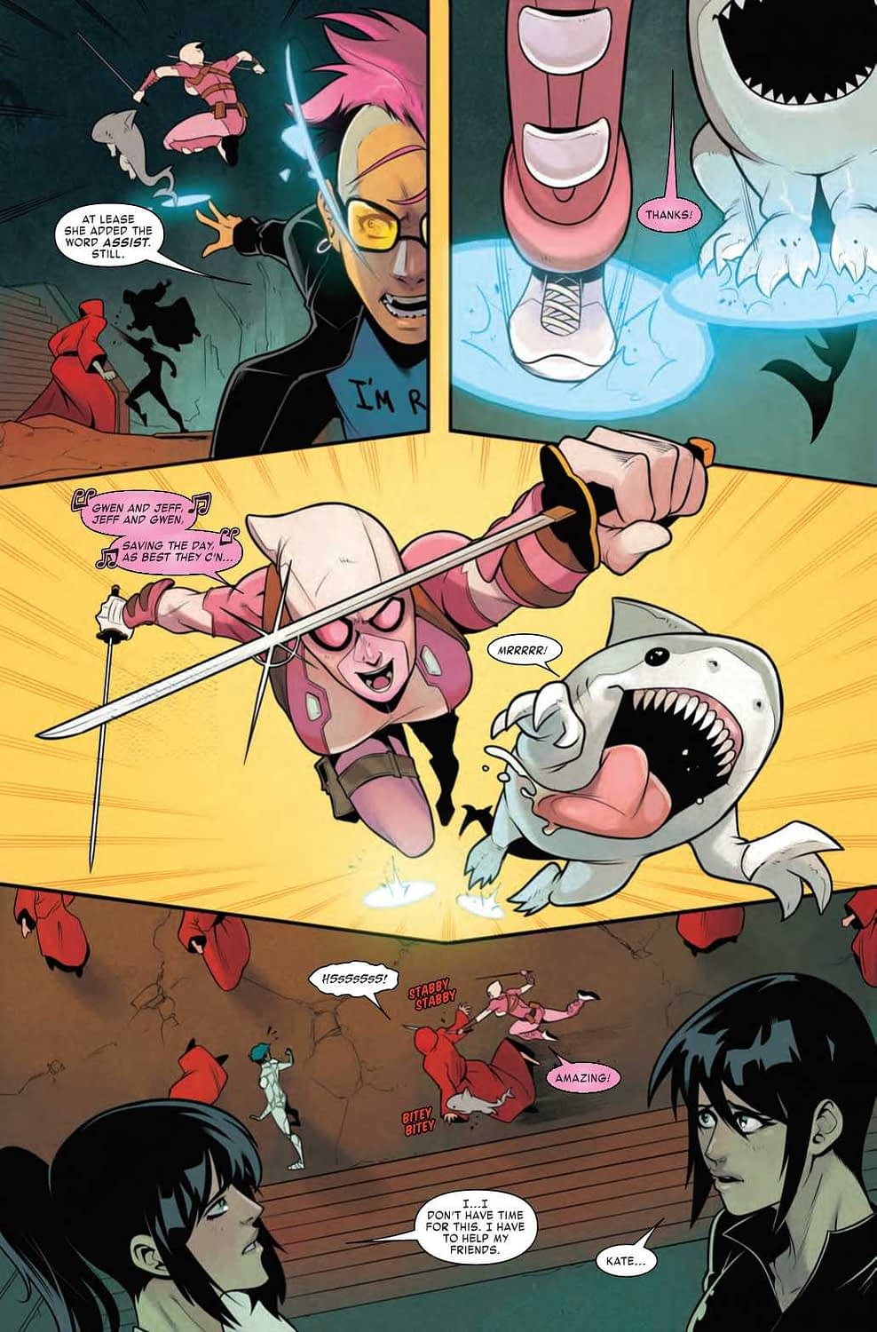 Why You Should Never Trust a Half-Vampire, Even if She's Your Mom - West Coast Avengers #10 Preview