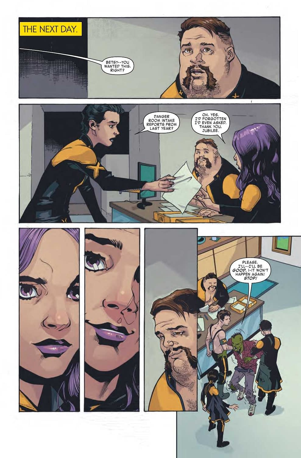 Blobsy Shippers Will Be Please With Age of X-Man: X-Tremists #3 (Preview)