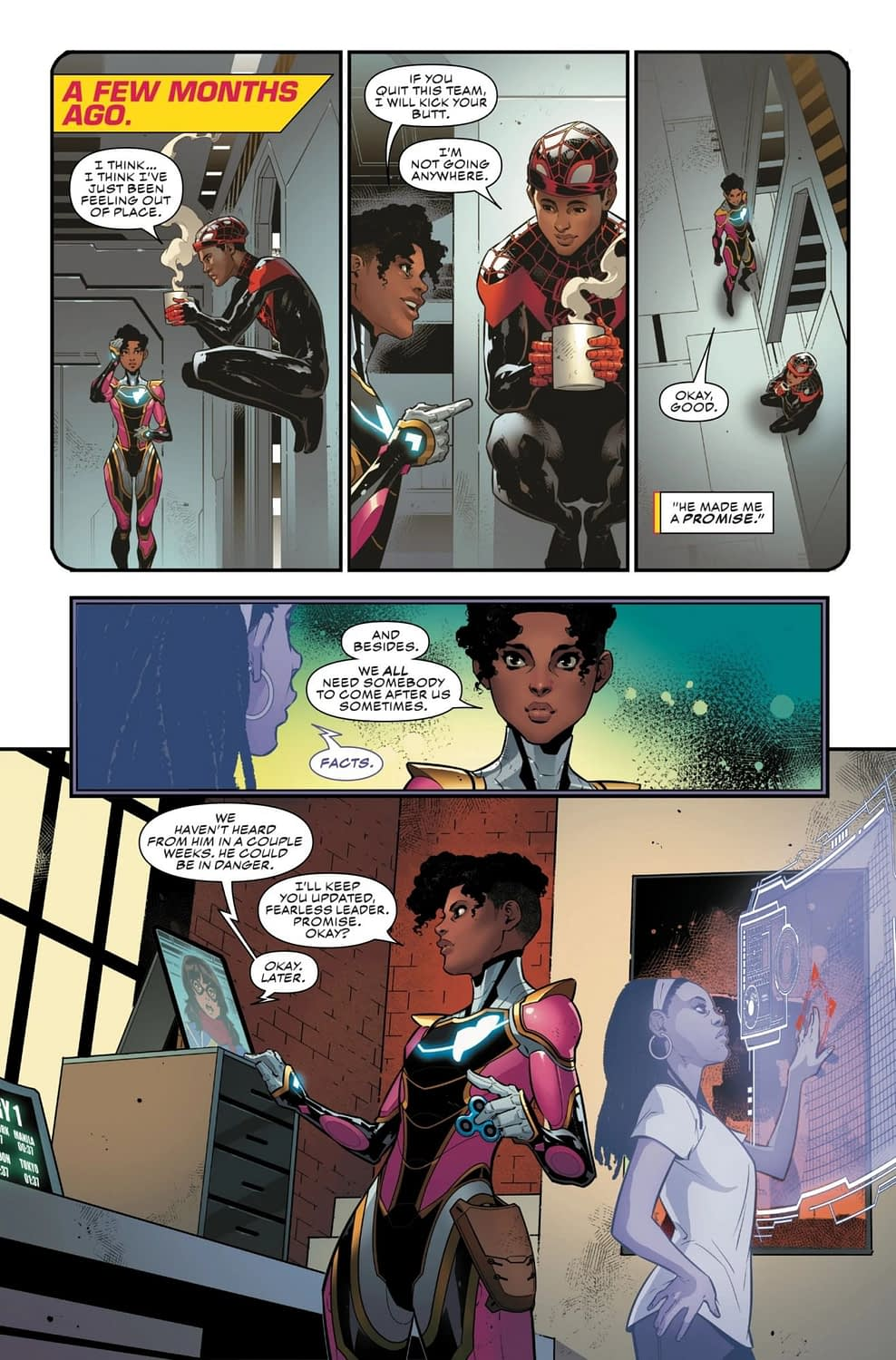 Maybe Spider-People and Iron-People Shouldn't Be Friends? Ironheart #6 Preview