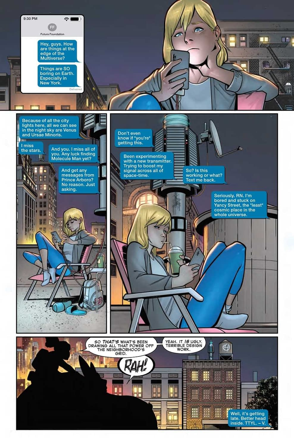 Franklin Richards, Sulky Teenager (Fantastic Four #10 Preview)