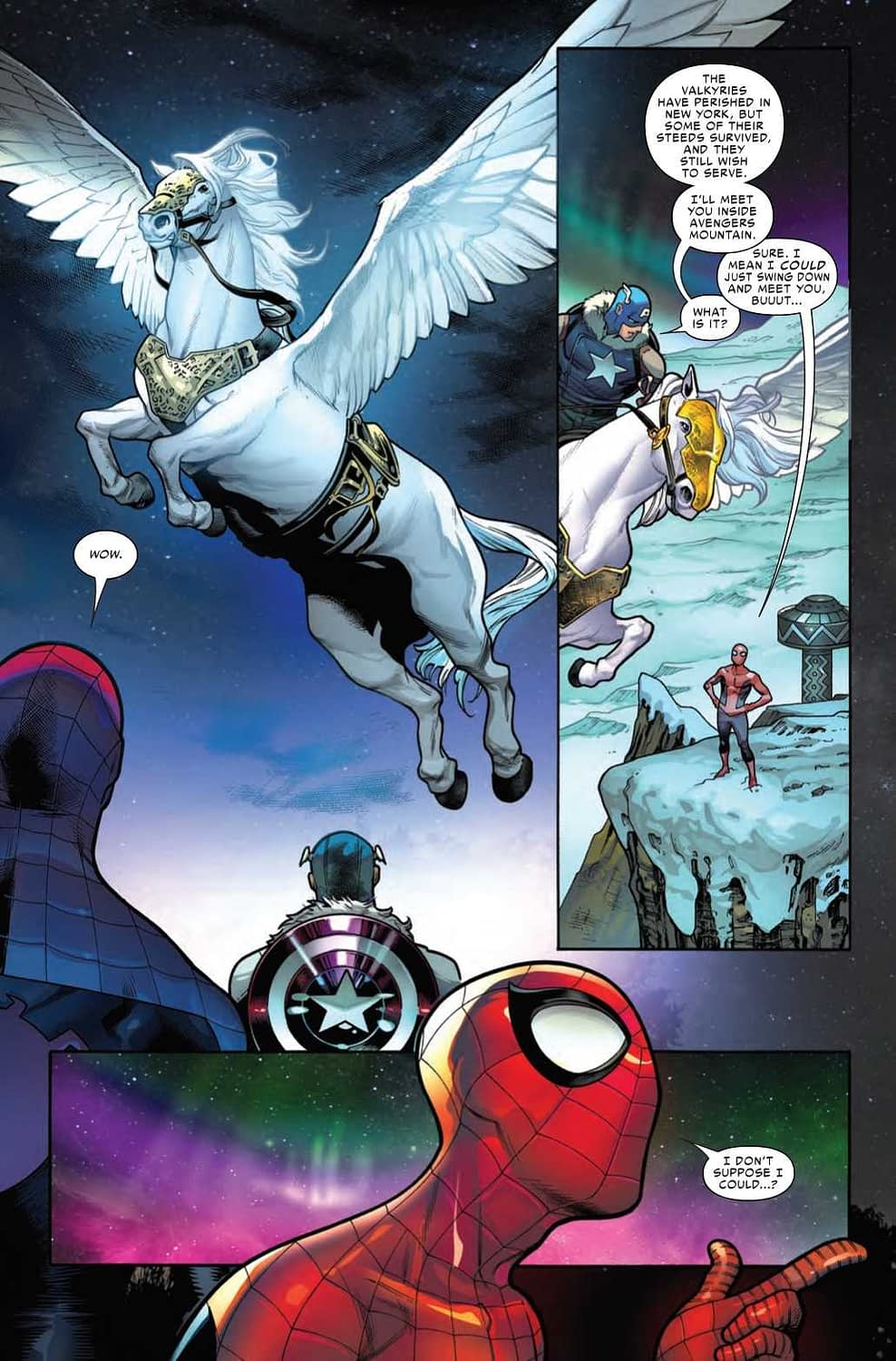 Spider-Man's Wish Fulfillment in War of the Realms: Strikeforce: Land of the Giants #1 (Preview)