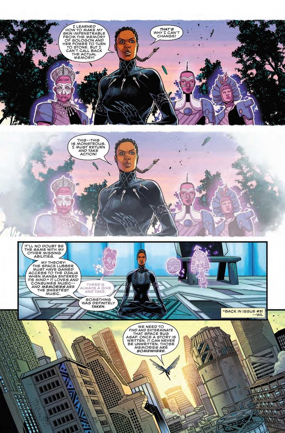 Shuri's Recap Pages are the Best in the Industry (Shuri #8 Preview)