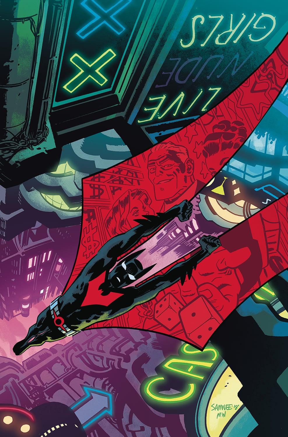 Bruce Wayne is Useless in Batman Beyond #32 (Preview)
